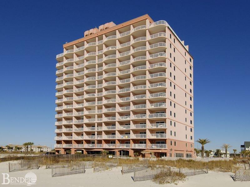 Royal Palms Complex - Vue du complexe Royal Palms depuis la plage.