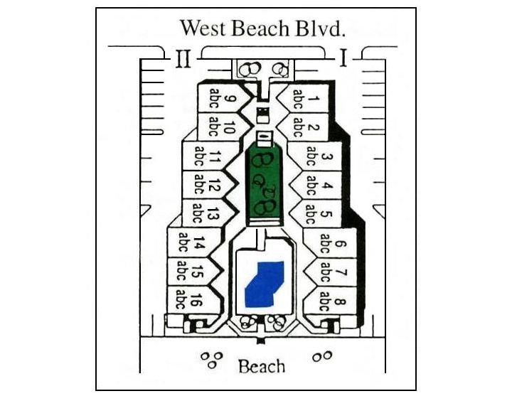 Plan du site du PS - Plan du site du bécasseau.