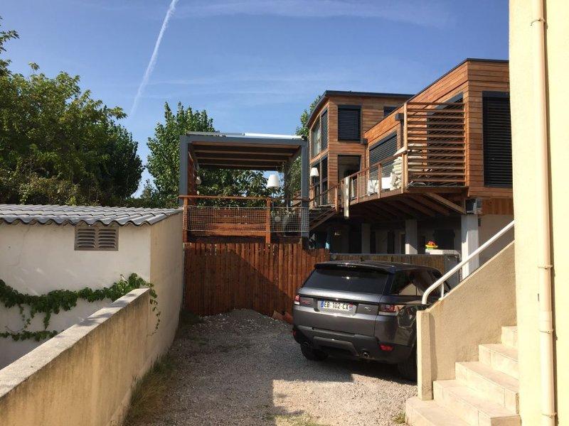 Villa T4 avec jardin face accès plage, alquiler vacacional en Palavas-les-Flots