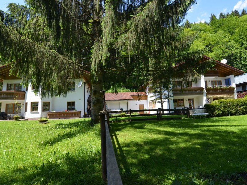 Holiday house with three living areas, balcony, garden and terrace, holiday rental in Upper Bavaria