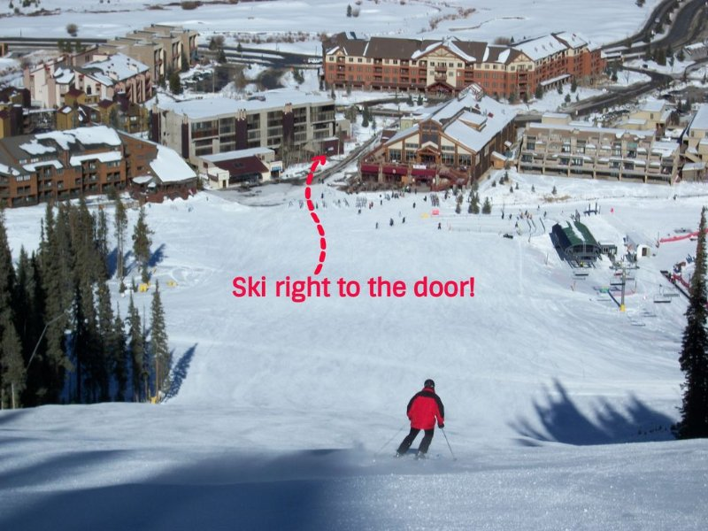 closer to the Superbee lift than the ticket window, alquiler vacacional en Copper Mountain
