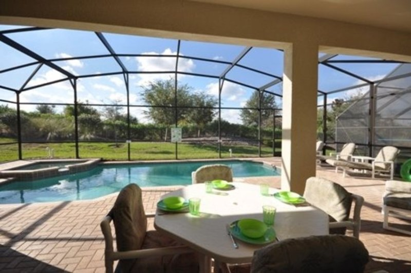 Safety Fenced Pool & Spa Villa House — 10 minutes to DisneyWorld!, location de vacances à Four Corners