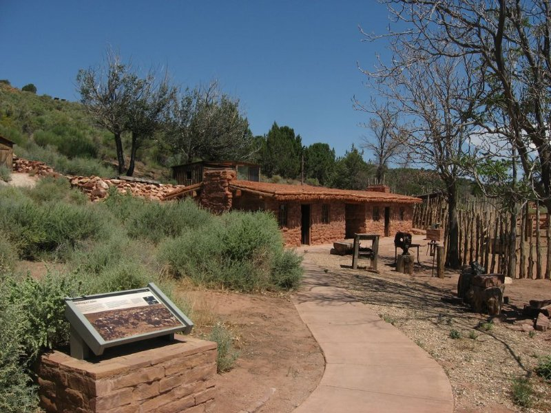 Pipe Spring National Monument, 20 minutes away and filled with history.