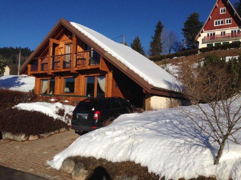 Romantique chalet au coeur hautes Vosges Xonrupt-Longemer à prox.Gerardmer, location de vacances à Vosges