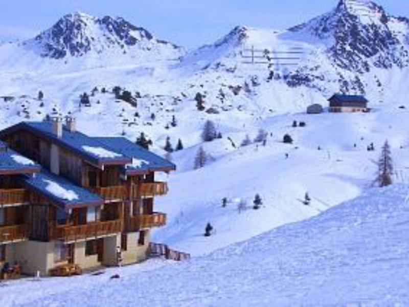 Plagne Village -  Ski to door apartment, alquiler de vacaciones en Plagne Bellecote