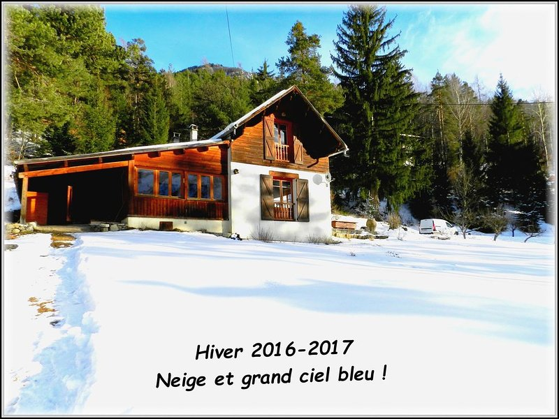 Authentique chalet de montagne dans le val d'Allos.Accès très facile., vacation rental in Saint Andre Les Alpes