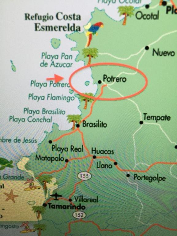 plano de la región