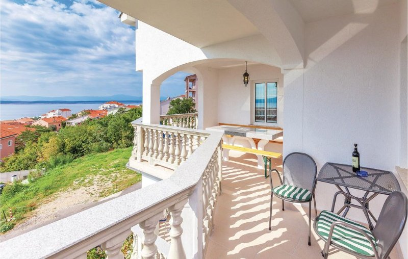 1 bedroom accommodation in Crikvenica, aluguéis de temporada em Crikvenica