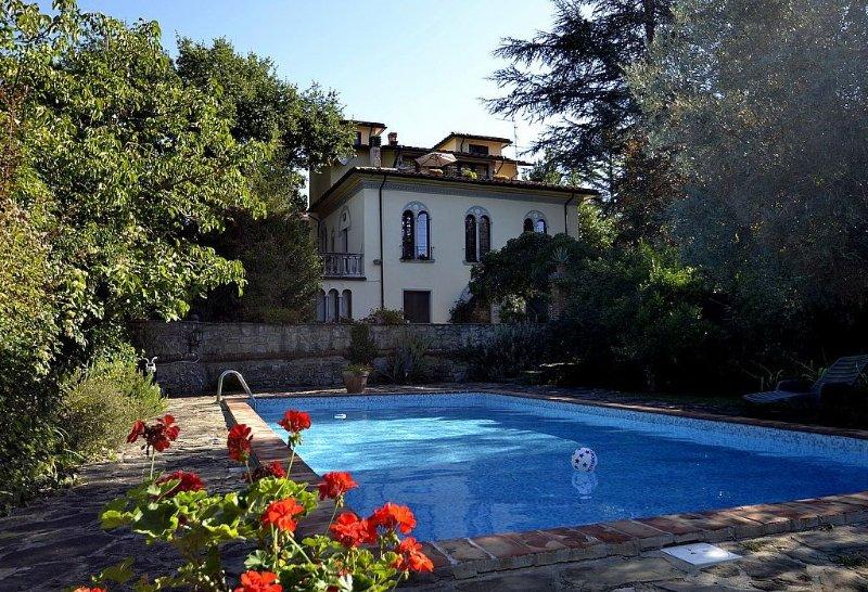 Villa Nandina A, rimborso completo con voucher*: Un accogliente appartamento sit, holiday rental in Falciano