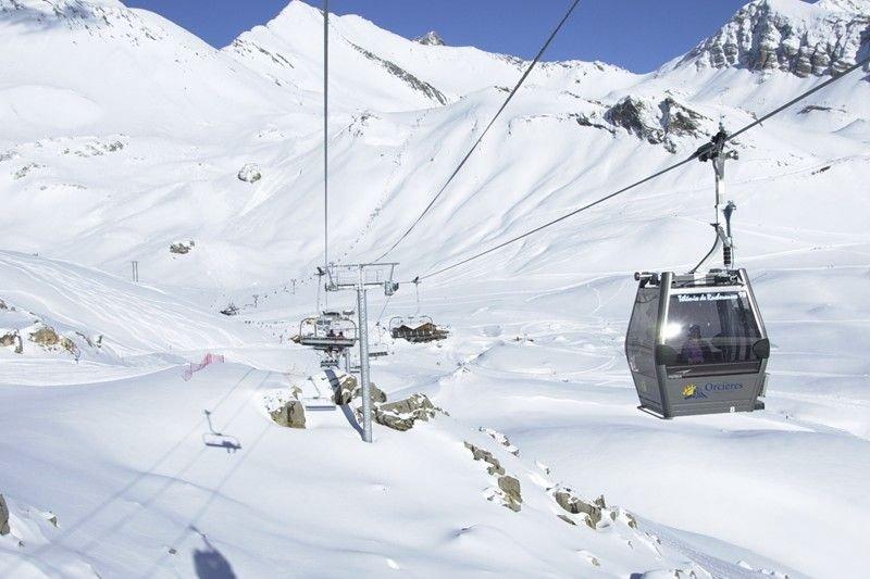Maxi studio 5 ******* centre station à Orcières Merlette - Alpes du Sud, location de vacances à Orcières