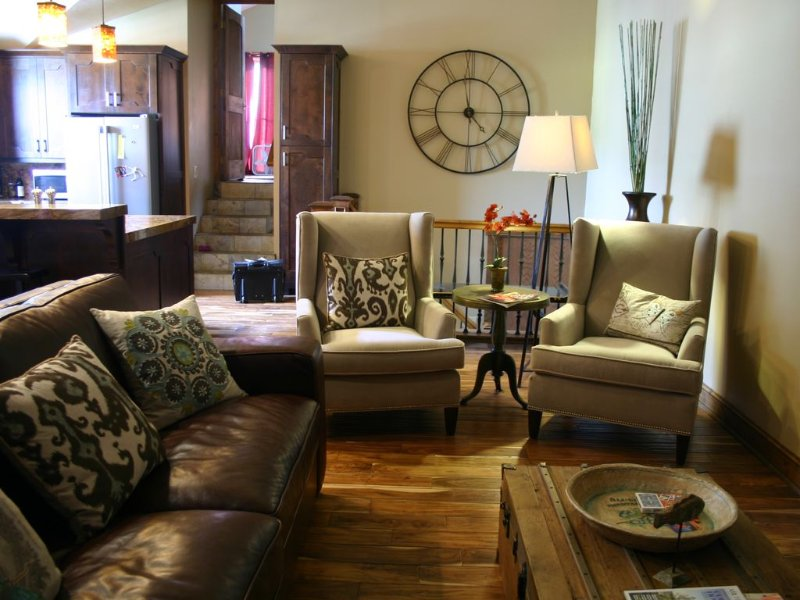 Luxury for 2 families (2 master stes, 2 living areas) and close to Town Lift, vacation rental in Park City