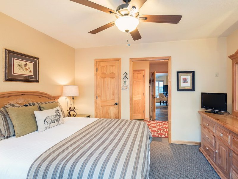 Flexible Cancellations! Riverfront Retreat w/ Mountain Views * Viking Lodge 217, holiday rental in Telluride