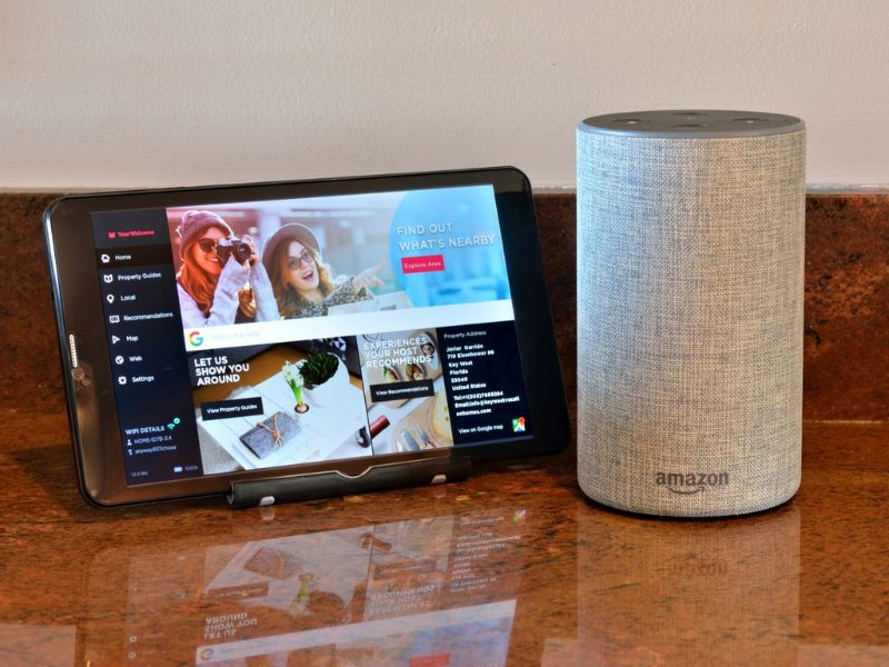 Technology - Each of our homes are equipped with a welcome tablet and an Amazon Echo.