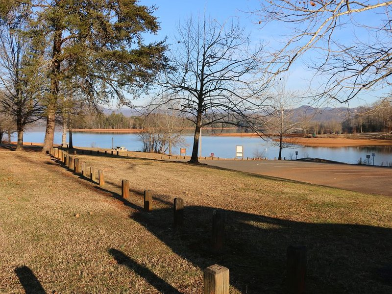 Lake Chatuge nears Hayesville - about 2 miles from Cabin. Open to public.