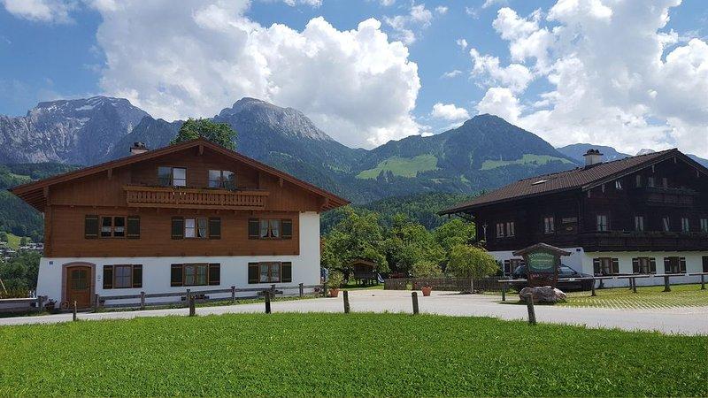 Schöne Ferienwohnung  - 40 m2 -  ruhige Lage und doch zentral – WLAN, vakantiewoning in Hallein