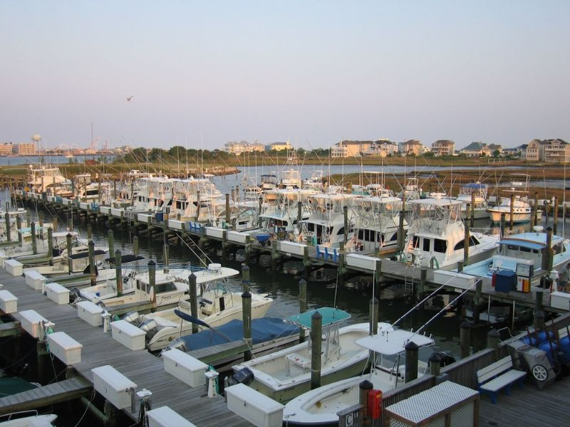 Chartered fishing is located at OC Fishing Center 6.5 miles from the house.