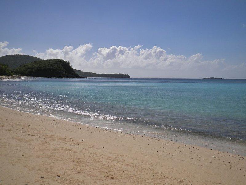 Carlos Rosario beach - short hike, great snorkeling.