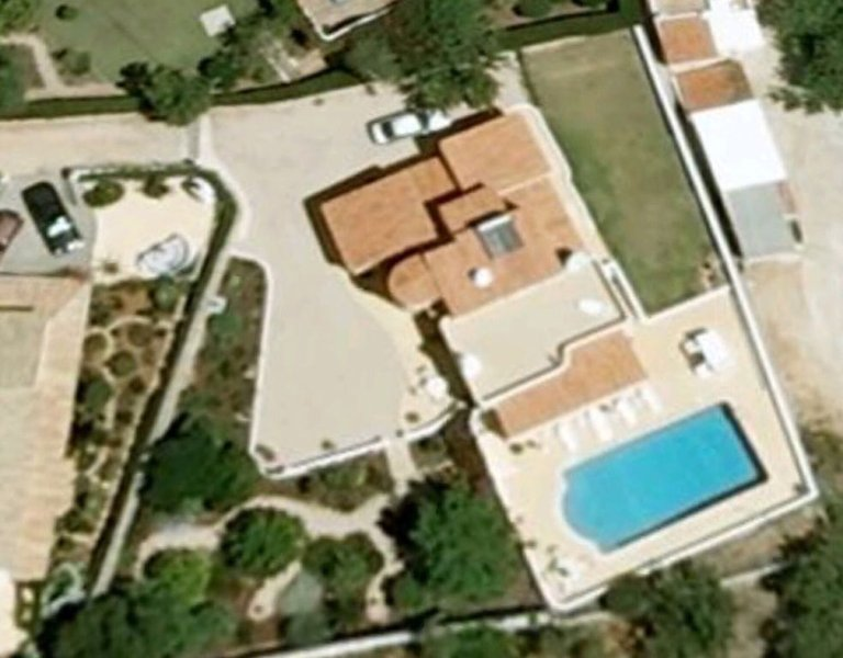 Aerial View (before pool and garden works were completed)