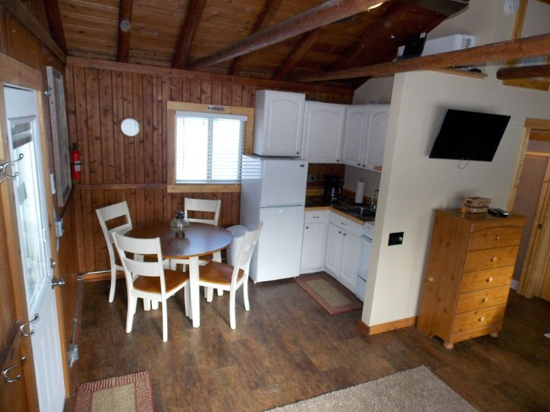 Alden Sunrise Cabin In Quaint Downtown Alden Near Torch Lake, vacation rental in Kalkaska
