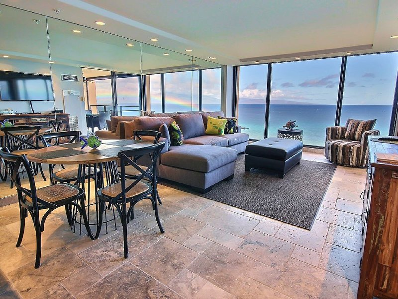 'Love Life at the Mahana, Direct Oceanfront Condo! Completely Remodeled', vacation rental in Lahaina