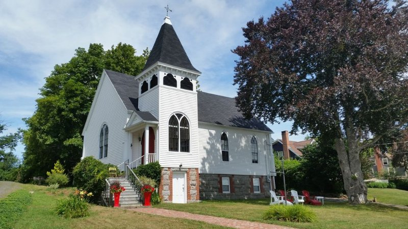Charming Former Church Overlooking Annapolis Royal, holiday rental in Annapolis Royal