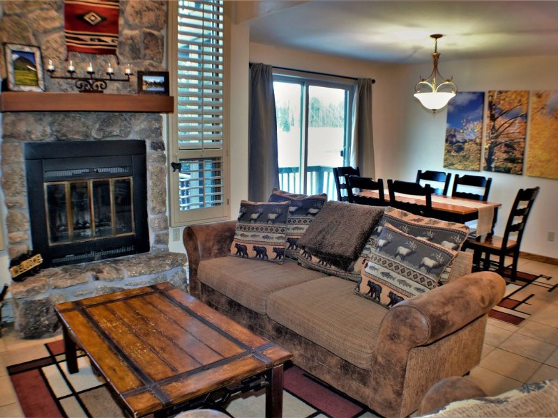 Amazing Condo with Mountain View, holiday rental in Purgatory