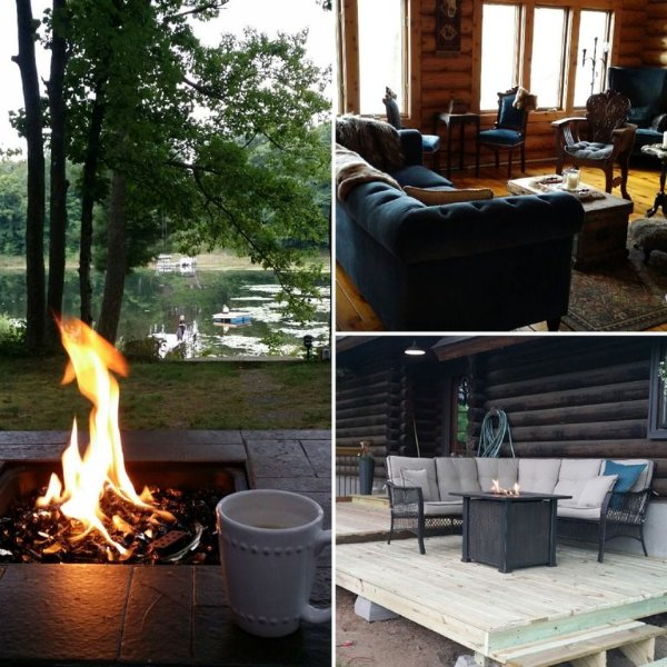 ALFHEIM-Quiet Nordic Cabin on Premier Silver Lake-Dock/Trails/Fishing/Water Toys, vacation rental in Shell Lake