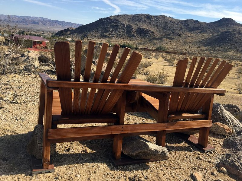 See 70 miles from the Overlook Bench, another 2017 addition. Great for sunset.