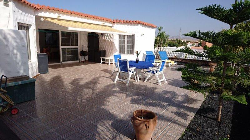 Attraktieves  Chalet an der Costa Calma mit vielen extras und Klimaanlage, holiday rental in Costa Calma