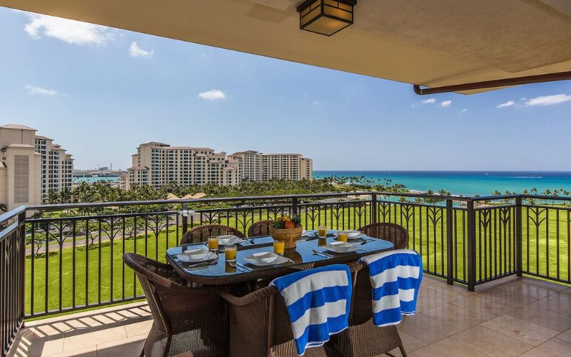 Amazing Ocean Views from 9th Floor Luxury Ko Olina Beach Villa!, location de vacances à Kapolei