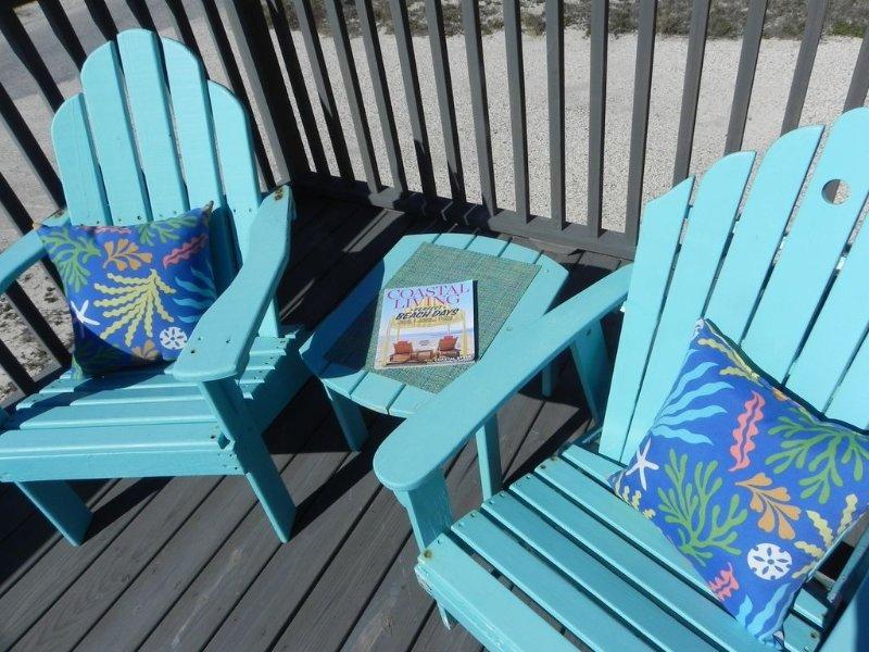 Sentarse y relajarse en el Coral de las dunas!