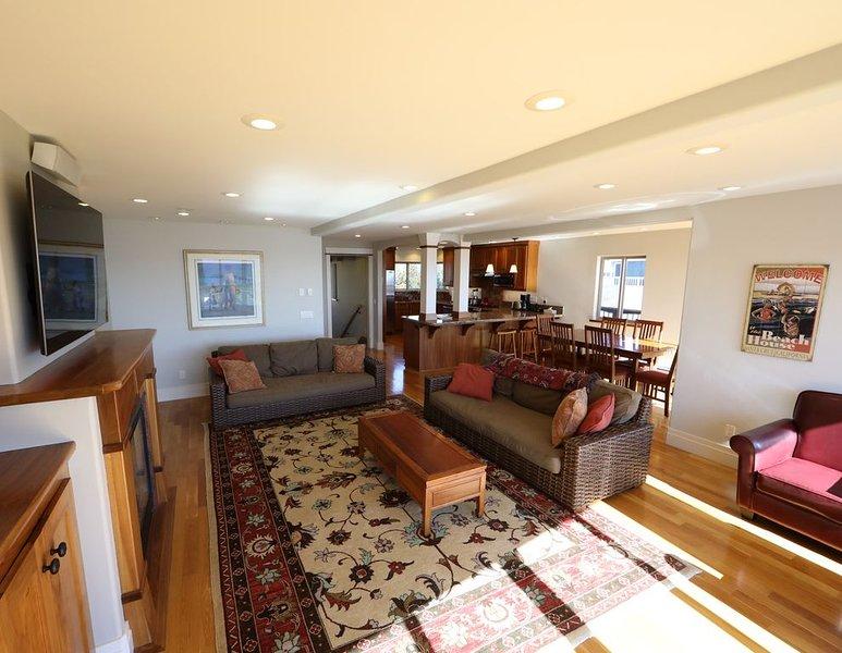 Expansivo sala de estar.