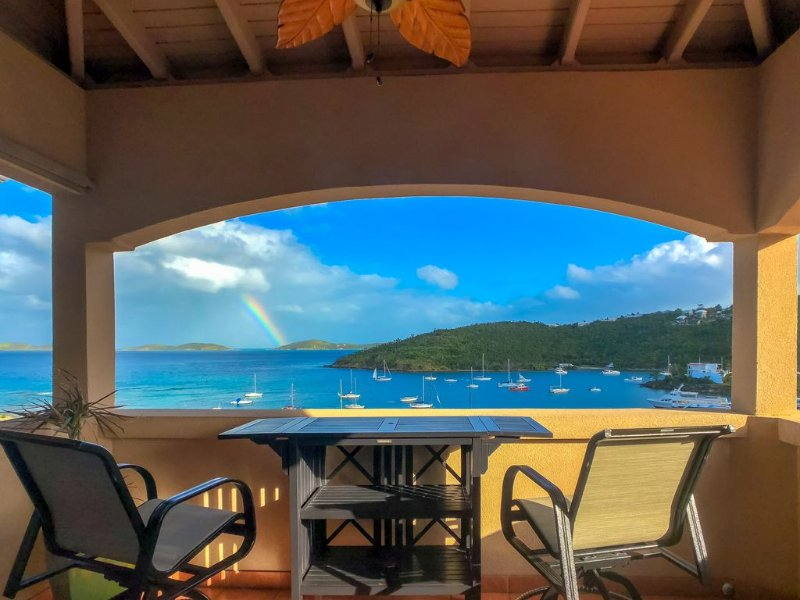 St. John Escape: Full Size 1 BDR End Unit: Prime Weeks in Dec&Feb now available, holiday rental in Cruz Bay