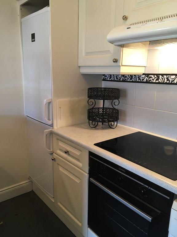 Cucina completa - dispone di grandi frigorifero e congelatore, piano cottura a induzione istantanea calda / fredda Fornelli.