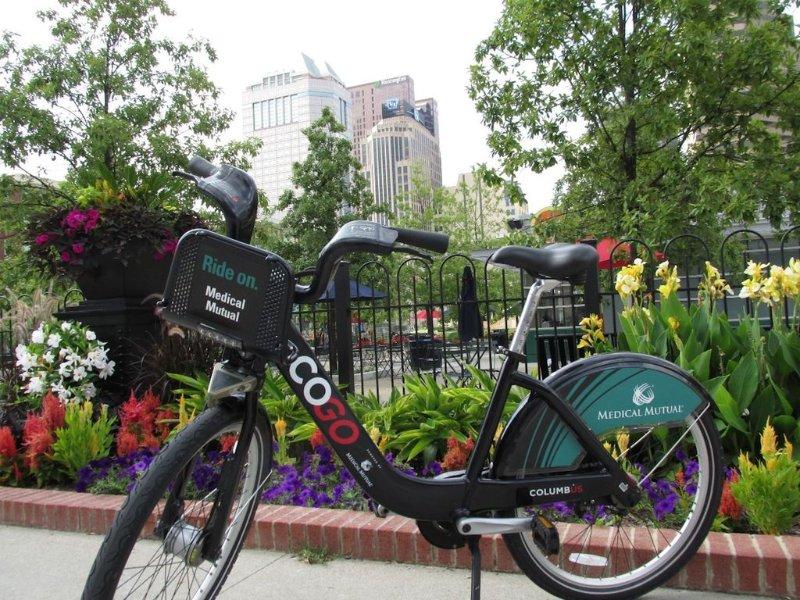 Tour de la ville sur 2 roues avec un GOCO vélo. La station est autour du coin!