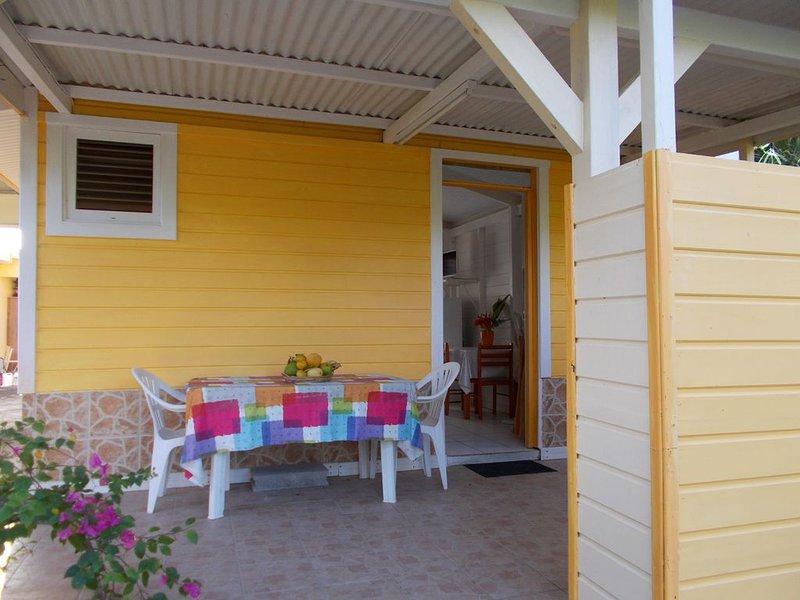 Bungalow Caraïbe, fontaine de jouvence ..., location de vacances à Le Marin