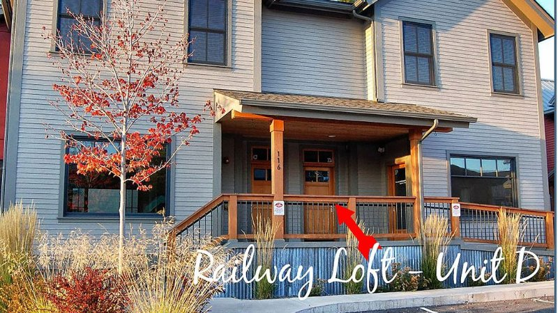 The Railway Loft at Whitefish, aluguéis de temporada em Whitefish