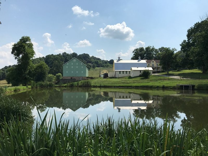 Great Family Retreat at Private Farmhouse, holiday rental in Frederick