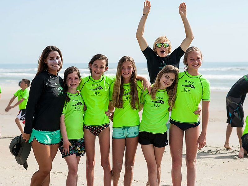 Ask us about fun, local surf lessons!