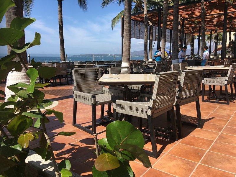 Beachfront restaurant!