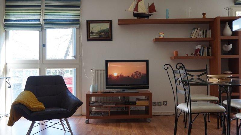 appartement 2/4 pers , plage à100 M,centre -ville 10mn à pied,parking privé, holiday rental in Concarneau
