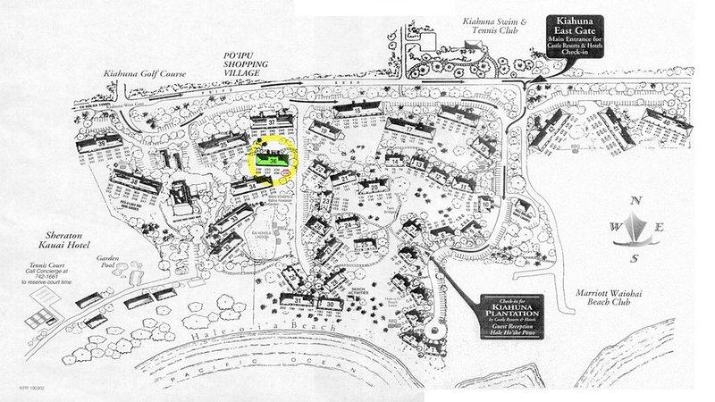 mapa da terra, indicando a localização da unidade