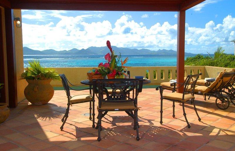 Breathtaking ocean views from Pool Terrace