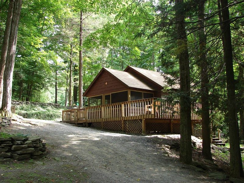 Lakeside Chalet with Boat dock #4, holiday rental in Tafton