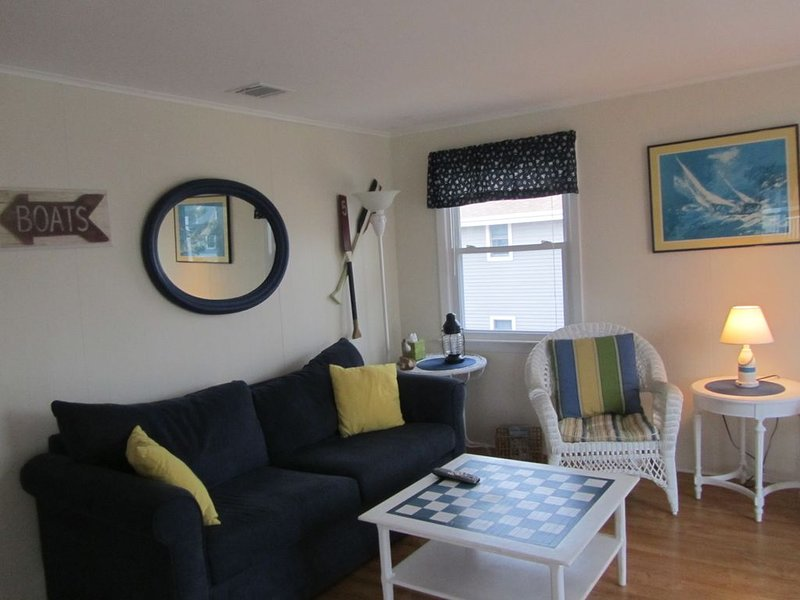 livingroom with sleeper sofa