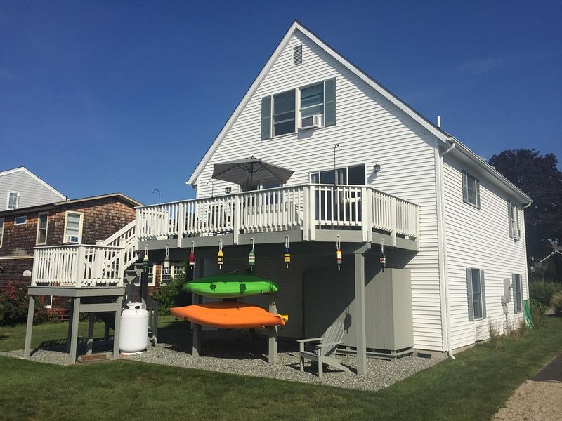 Furnished Groton Long Point Cape Near Beach and Mystic, alquiler vacacional en Groton