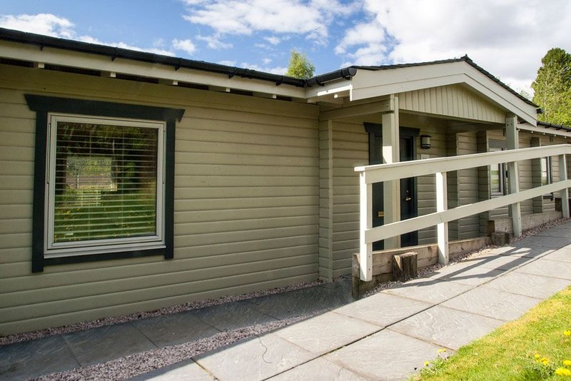 Log Lodge in a quiet part of Aviemore, 10 mins walk to town centre., location de vacances à Aviemore and the Cairngorms
