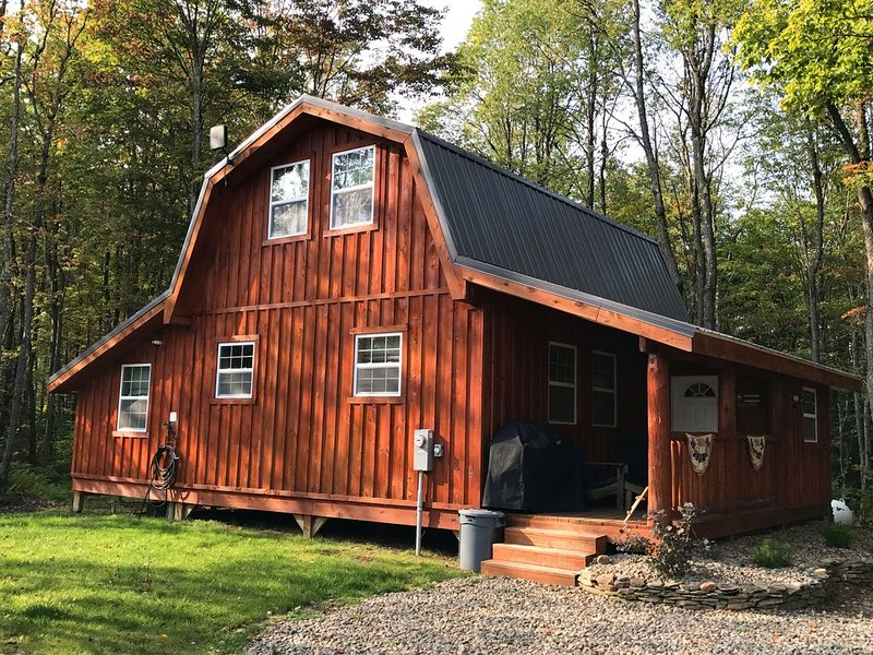 New Tug Hill Cabin - Redfield NY On Snowmobile Trail, Close to Salmon River, holiday rental in Orwell