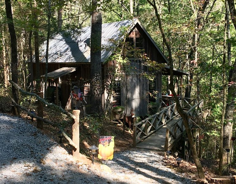 Relaxing Rustic Cabin, holiday rental in Lakemont