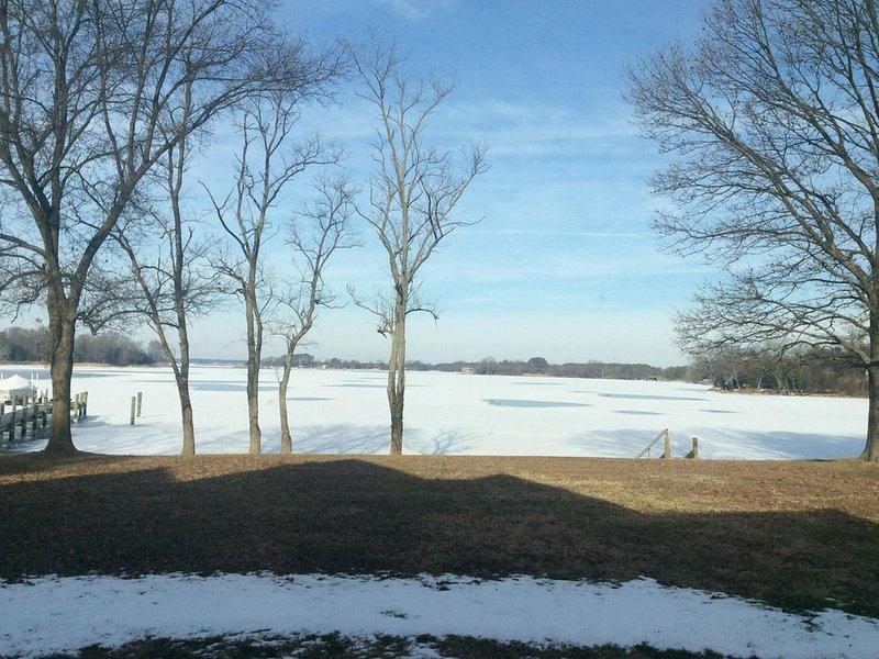 Beautiful in winter too!